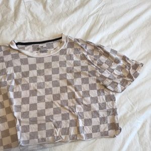 *3 for 27* Hollister checkered crop top